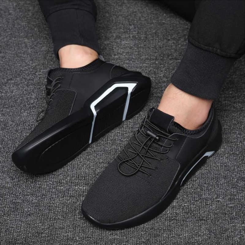 Weweya marka 2019 yeni nefes rahat örgü erkek ayakkabısı rahat hafif yürüyüş erkek Sneakers Tenis Feminino ayakkabı