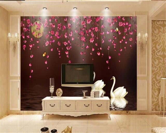 Online Shop beibehang Custom Wedding Wall Decorative Wallpaper ...