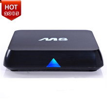 hot Original M8 stable XBMC installed Amlogic S802 Android TV Box Quad Core 2G 8G Mali450 4K 5G Dual WiFi smart tv box