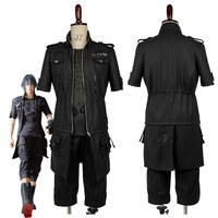 Adult FF XV FF15 Noctis Lucis Caelum Noct Cosplay Costume Outfit Male Female Custom Made Any Size
