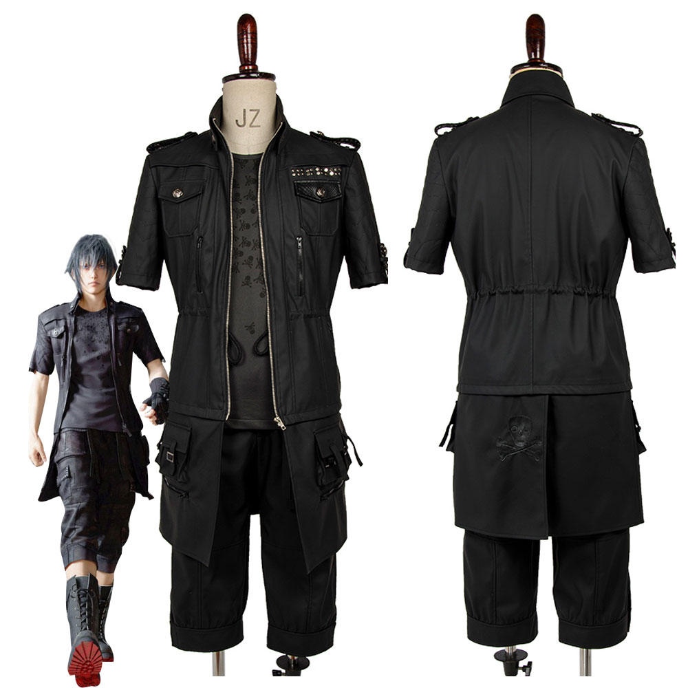 Adult Final Fantasy XV FF15 Noctis Lucis Caelum Noct Cosplay Costume Outfit Male Female Custom Made Any Size