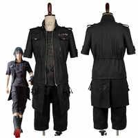 Erwachsene FF XV FF15 Noctis Lucis Caelum Noct Cosplay Kostüm Outfit Männlich-weibliche Nach Maß Irgendeine Größe