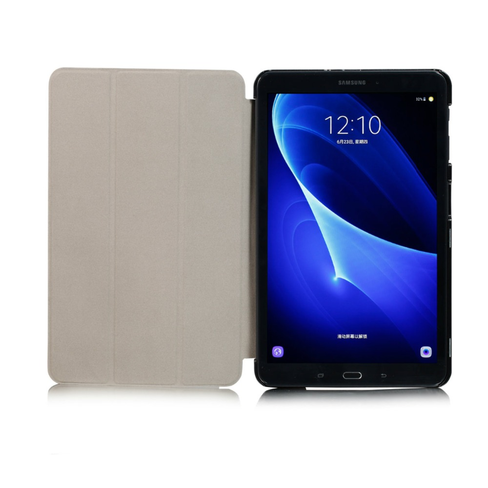 low priced innovative design buy For Coque Galaxy Tab A6 10.1 Inch Tablet Case New KST Flip PU Leather Casse  Cover For Samsung Galaxy Tab A 10.1 T580 SM-T585