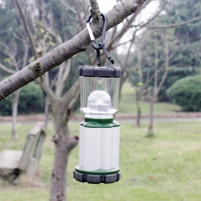 YUPARD Free shipping Outdoor Bivouac LED Light Lamp camping Lantern Travel Camping 3 AA battery fishing outdoor sport