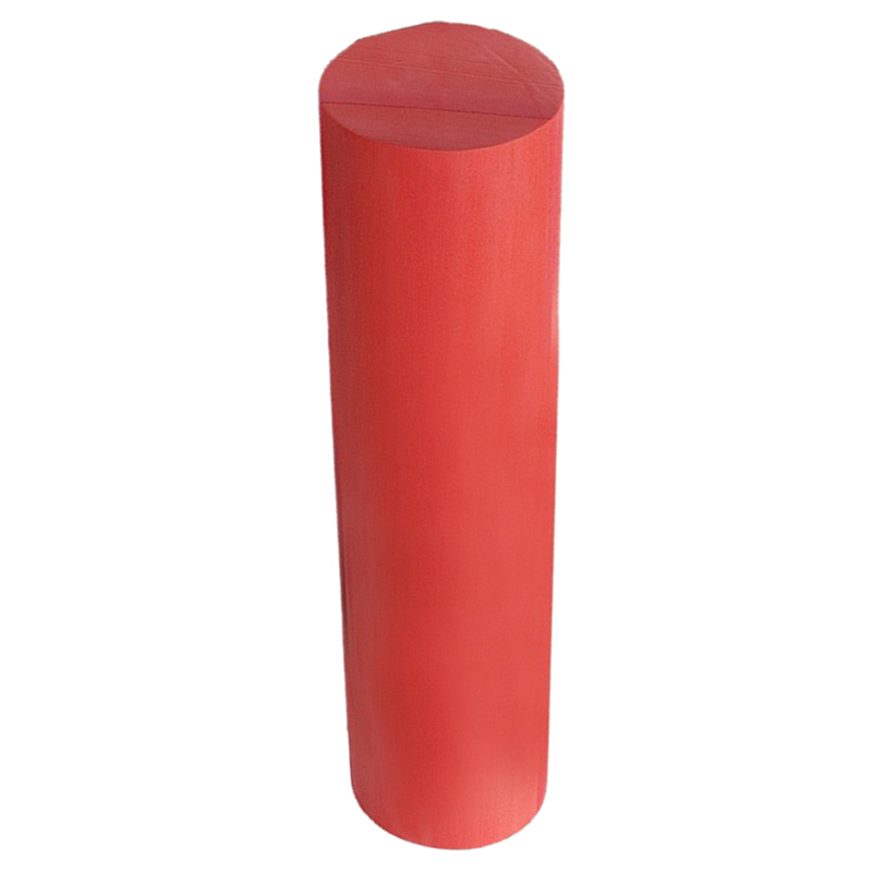 New Red Yoga Foam Roller Pilates Massage Exercise Fitness Smooth Surface, 30cm