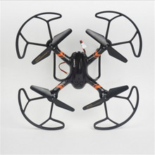 33044 Mini Drones With Camera HD FPV Headless RC Helicopter WIFI Altitude Hold RC Quadcopter RTF Micro RC Drone Professional original wltoys rc helicopter with camera q626 b wi fi fpv 720p hd selfie drone altitude hold rc quadcopter rtf folded rc toys