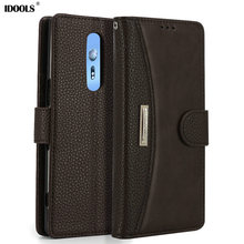 hot deal buy idools case for sony xperia xz4 xz 4 flip pu leather magnetic wallet cover phone bags cases for sony xperia xz4 shell