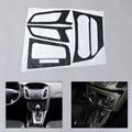 Новый Интерьер Автомобиля Центральной Консоли Углеродного Волокна Формования Наклейки Наклейка для 2012-2013 Ford Focus 3 MK3 НА Автоматический