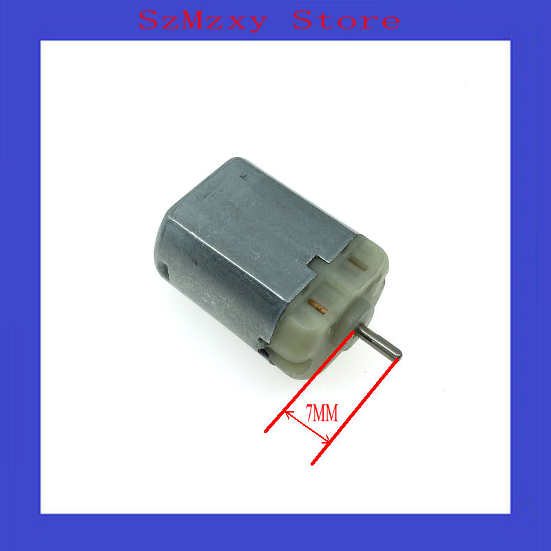 1PCS FC280 FC-280 280 12V Miniature dc locomotive lock rear-view mirror with motor high speed motor image