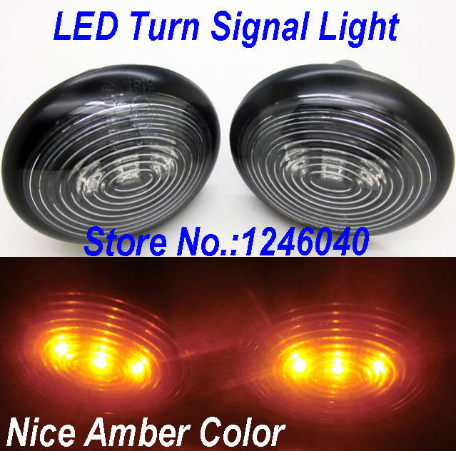 Nice Amber Color Led Side Marker Light Turn Signals For Mini Cooper R55 Clubman R56 06 14 R57 R58 R59 R60 Countryman 11