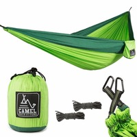 Backpacking Hiking Outdoors Or Travel Lightweight Portable With Max 1000 Lbs Capacity XL Double Nylon Parachute