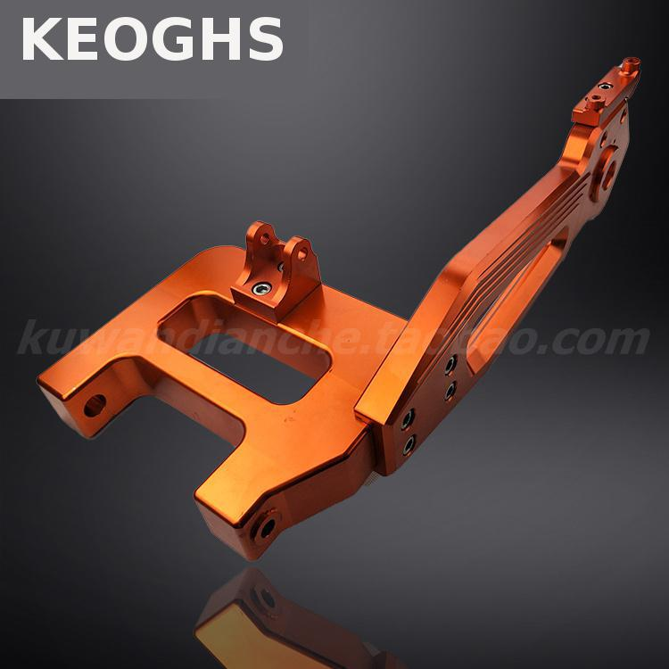 Keoghs Motorcycle All Cnc Aluminum Rear Swingarm/swinging Arm/rear Fork For Honda Kawasaki Msx Monkey Bike Modify keoghs motorcycle high quality personality swingarm swinging arm rear fork all cnc for yamaha scooter bws cygnus honda modify