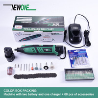 NEWONE Electric Mini Drill Dremel tool Variable Speed Rotary Tool with 68 pcs accessories