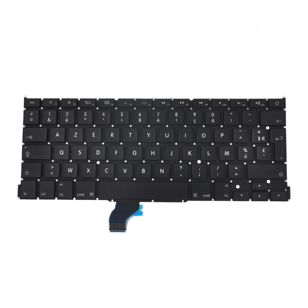 New notebook laptop keyboard for Apple Macbook Pro Retina 13 A1502 2013-2015 AZERTY  FR/French layout brand new azerty fr french keyboard backlight backlit 100pcs keyboard screws for macbook pro 15 4 a1286 2009 2012 years
