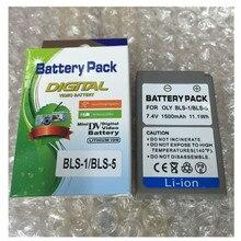 PS-BLS5 BLS-5 baterias de lítio BLS50 câmera Digital bateria BLS 5 Para Olympus PEN E-PL2 E-PL7 E-PM2 E-PL5 OM-D E-M10 E-M10II