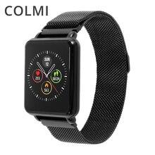 COLMI Land 1 Full Touch Screen IP68 Smartwatch impermeabile supporta più modalità sportive monitoraggio della frequenza cardiaca per uomo e donna