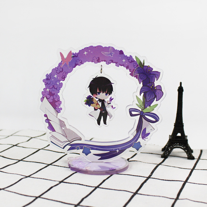 Anime Love Producer Display Big Stand Figure Model Plate Holder Japanese Cartoon Figure Collection Jewelry Christmas Gift