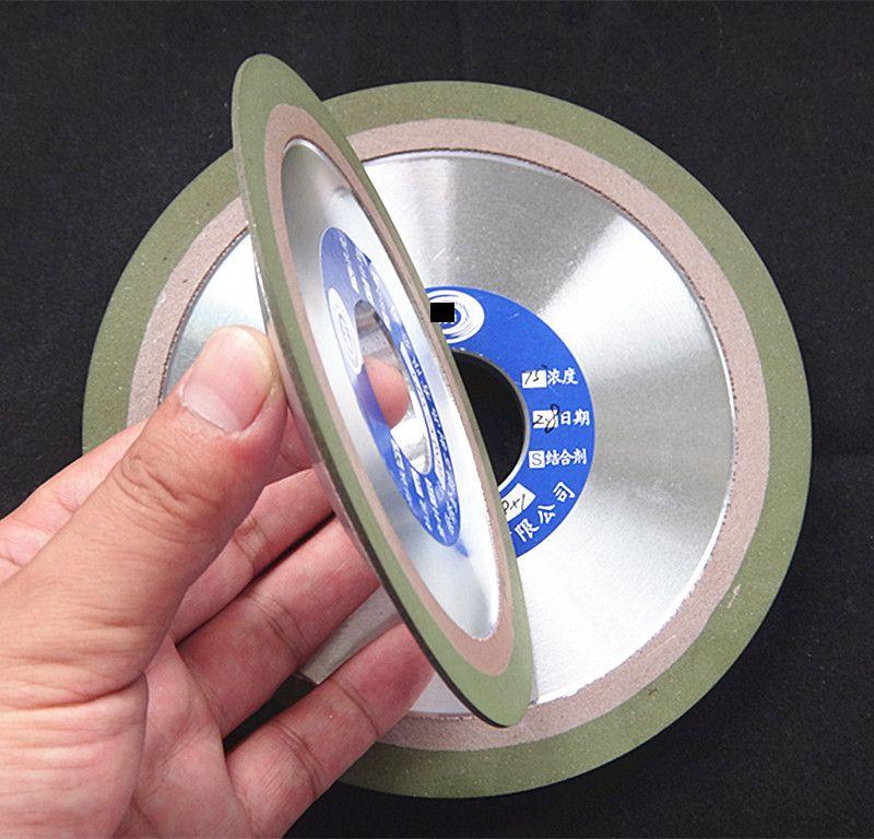 100/125/150mm Diamond Grinding Wheel Tapered Wheel Abrasive Grinding Tool Ceramic Mould Sawing Cutting Tool Mounted Wheel Edging