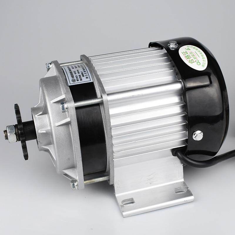 UNITEMOTOR BM1418ZXF 500 W 48 V Bürstenlosen DC Motor Elektrische Dreirad Motorrad Motor Motor E Trishaw Auto Mitte Stick rad Motoren - 2
