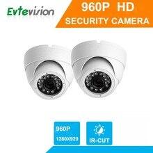 1 pcs 960P/1.3MP High Definition 4 in 1 TVI/AHD/CVI/CBVS Vandal-Proof Metal Case CCTV Camera With OSD Menu