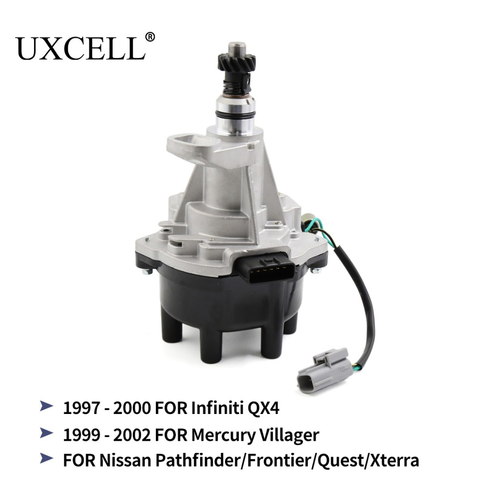 UXCELL 22100-1W600 FDW-1W601 Ignition Distributor For Nissan Pathfinder Frontier Xterra For Infiniti QX4 For Mercury Villager