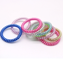 10Pcs Hair Accessories For Women Hair Ring Rope Traceless Girls Gum Springs Elastic Hairbands Headdress Hair Ties Rubber Bands