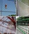 Высокая прочность 10 мм диаметр Нейлон веревка Лестница сети Безопасности защитной сеткой net guard спорт На Открытом Воздухе Восхождение чистая