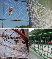 High strength 6mm diameter Nylon rope Stairway Safety net protecting net guard net Outdoor sports Climbing net