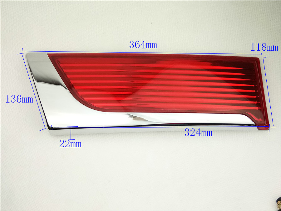 909023LA7A+P132 Brake Lights Cap Rear Lights Cover For Nissan NV200 NV200 Taillight Rear Reflector Top Quality Factory Price