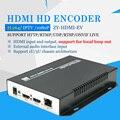 H.264 HD Encoder HDMI para IPTV, codificador de Transmissão ao vivo, o Apoio local loop out, trabalha com wowza, youtube fornecedor fábrica
