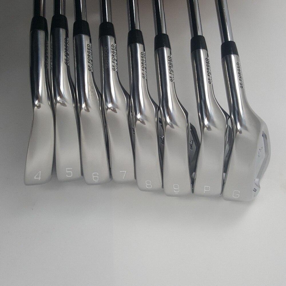 Touredge JP 90 гольф утюги набор Гольф кованые клюшки для гольфа 4-9PG регулярные и Жесткая гибкий стальной вал с крышкой на голову