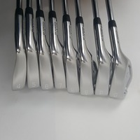 touredge JP 90 Golf Irons Set Golf Forged Irons Golf Clubs 4 9PG Regular and Stiff Flex Steel Shaft With Head Cover