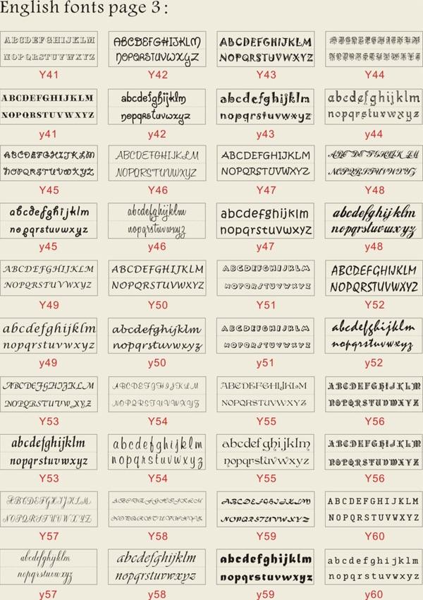 typewriter font custom return address stamp 3\