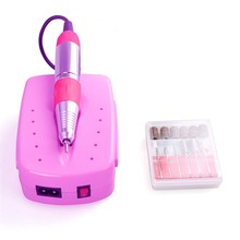 Professional Electric Nail Drill Machine Manicure Drills ZS-213 Nail Art Tools Set Free Shipping Sanding Bands 25000rpm kit file