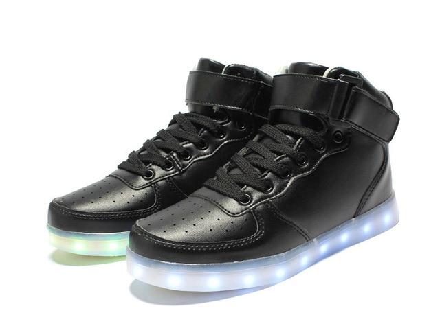 Led luminous shoes women casual shoes 2016 New Arrivals Simple women led Shoes