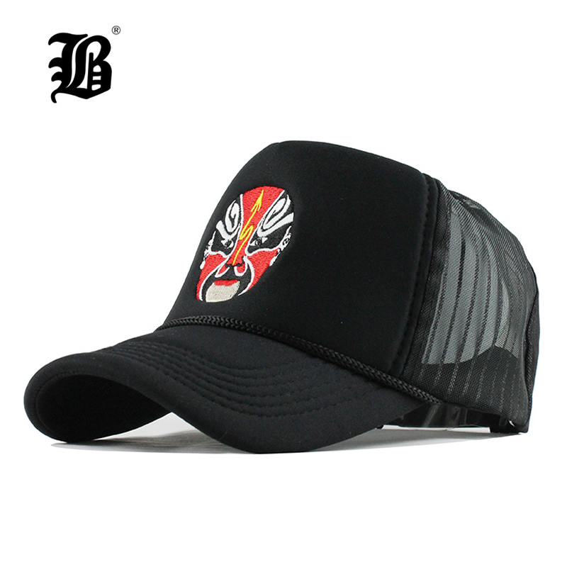 Summer Baseball Cap Embroidery Mesh Cap Hats For Men Women Snapback Gorras