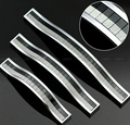 10 unids 128 mm clear aleación de zinc tipo perillas del gabinete y maneja cristal dresser tiradores kids bar perilla de la puerta