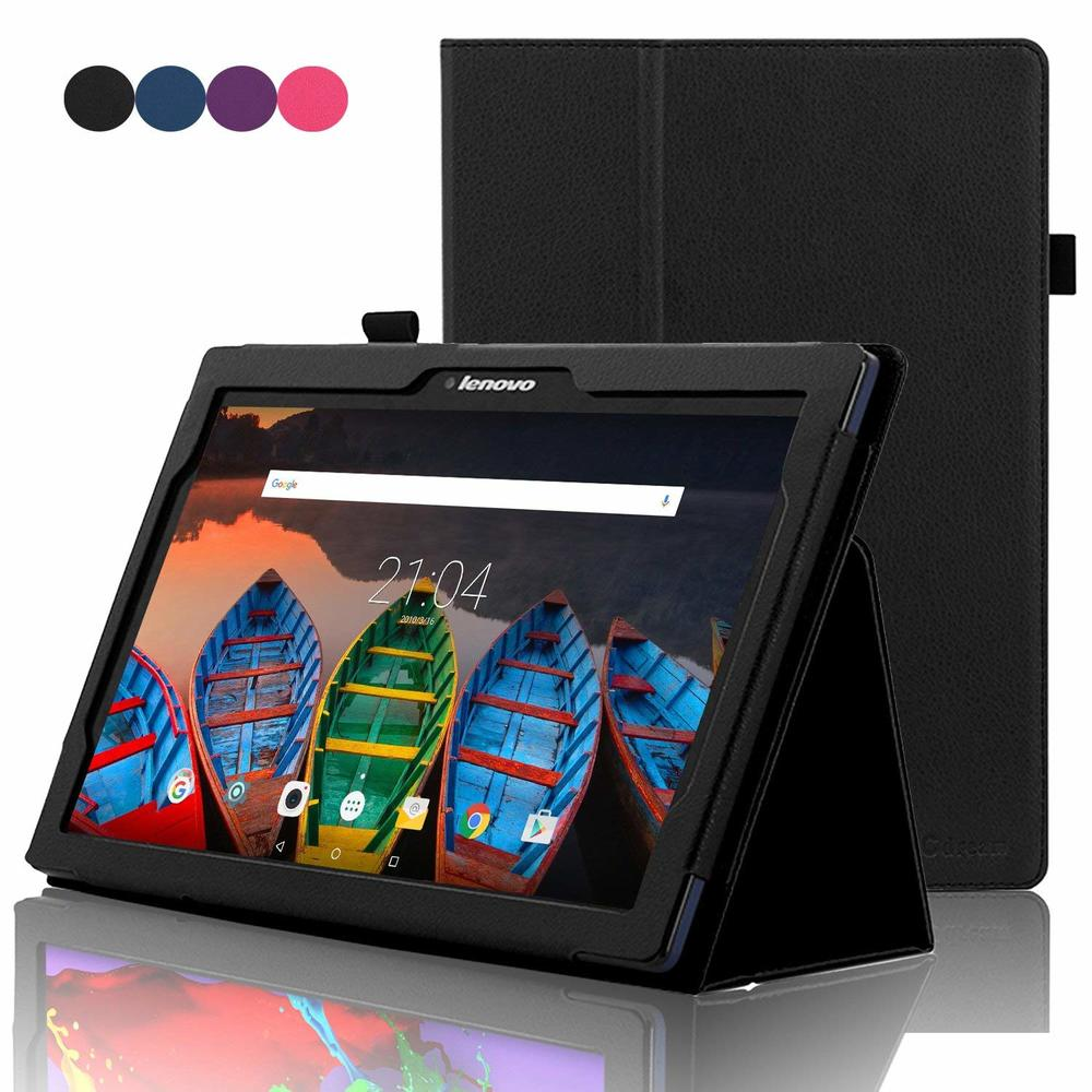 New For Lenovo Tab 2 A10-70 A10-70F/L A10 70 Smart Flip Leather Case Cover For Lenovo Tab 2 A10-70L Tablet 10.1'' Tablet Case