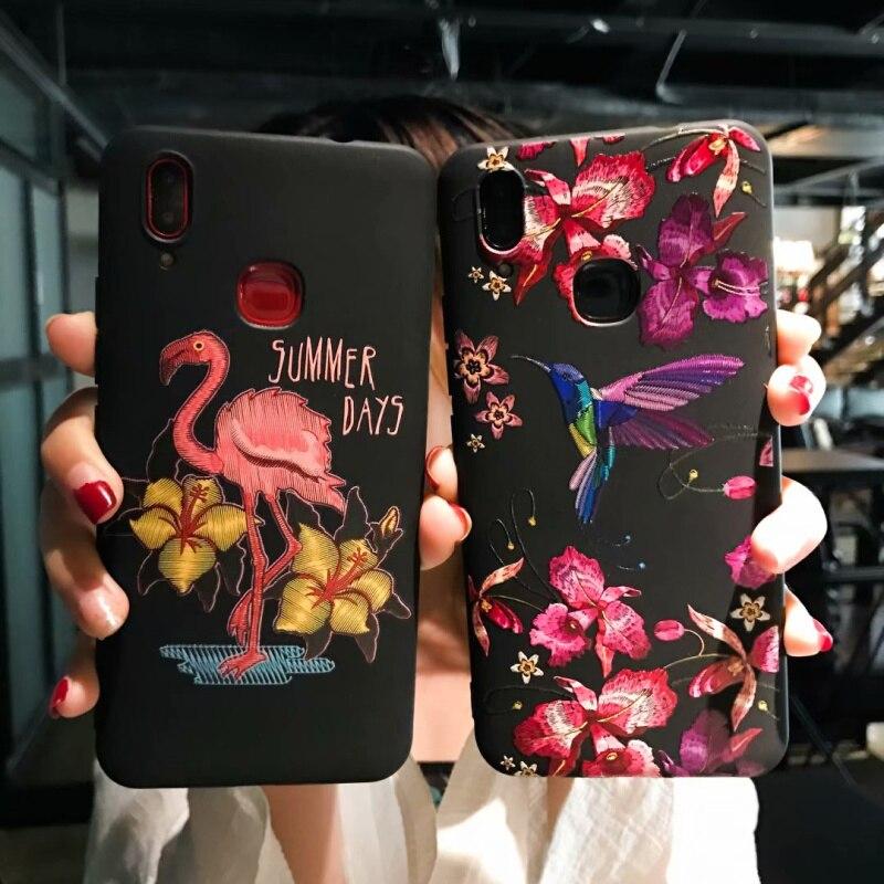 SneKa Xiaomi redmi note 5 Case Silicone Super 3D Relief Rose Cartoon Soft TPU Back Cases For Xiaomi redmi note 5 pro Cover
