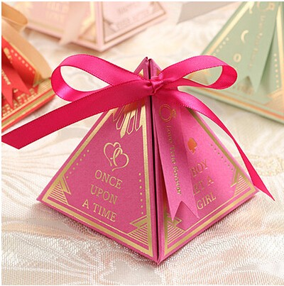 100pcs Pasayione Luxury Candy Bo Container Pink Green Red Purple Wedding Favor Casamento Favors Gifts Centerpieces In Gift Bags Wring Supplies