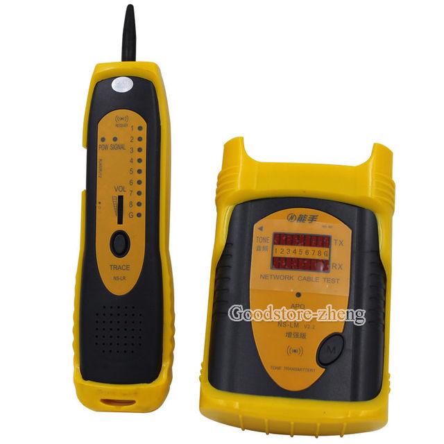 NS-LM Analizador de Cables de Red Cable de Alambre de la Red Del Teléfono Toner Trazador Probador Del Perseguidor