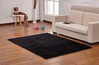 4 Sizes Off white Pink Blue Black 80cm x 120cm Area Carpet for Home Living Room Bedside Rug Area Rug Soft Floor Mat for Kids