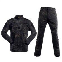 NEW MCBK Military BDU uniforms/ Multical Black tactical BDU uniforms(jacket& pants) tactical cargo pants uniform