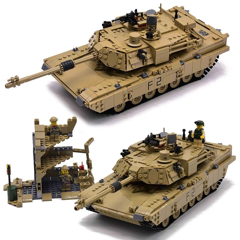 Kazi Military M1A2 Tank 1463pcs Bricks Abrams Main Battle Tank Building Block Sets Models 2in1 Toys Compatible with LegoinglyKazi Military M1A2 Tank 1463pcs Bricks Abrams Main Battle Tank Building Block Sets Models 2in1 Toys Compatible with Legoingly