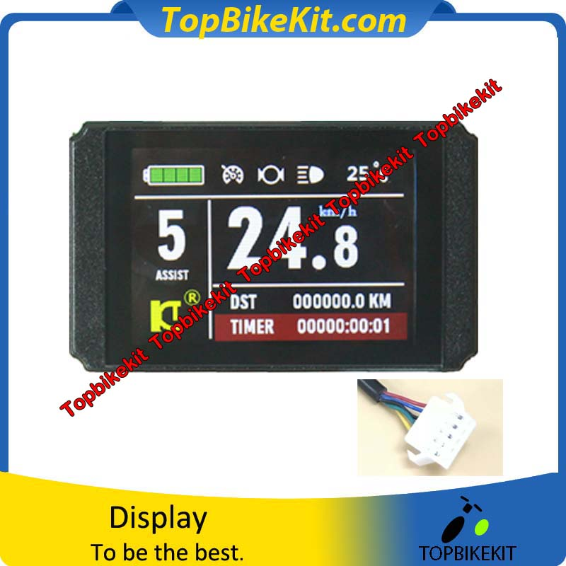 2019 Fashion Ebike Kunteng Intelligent Kt Lcd7u Control Panel Display Electric Bicycle Bike Parts Lcd7 Atv,rv,boat & Other Vehicle
