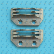 INDUSTRIAL SEWING MACHINE FEED DOG FOR JUKI BROTHER CONSEW #147150 2 pcs