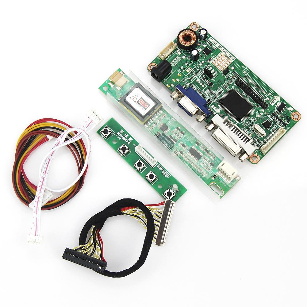 VGA+DVI M.R2261 M.RT2281 LCD/LED Controller Driver Board For LTN121X1-L02 LVDS Monitor Reuse Laptop 1024*768
