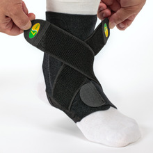 2018 New Arrival Sports Ankle Joint Support Brace Stability 3-tier Structure 2 Adjustable Bands SS