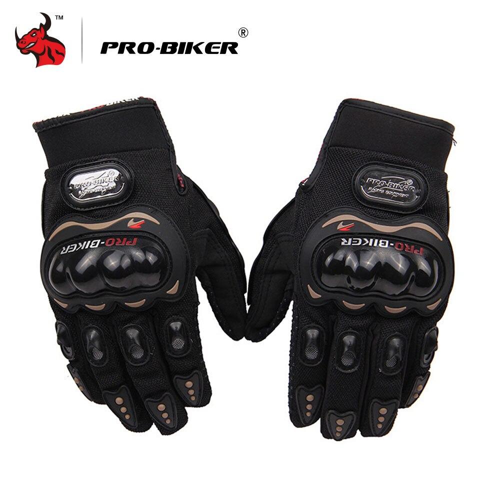 PRO BIKER Non Slip Cycling Gloves Biker Full Finger Motorcycle Gloves High Quality Motocross Off Road