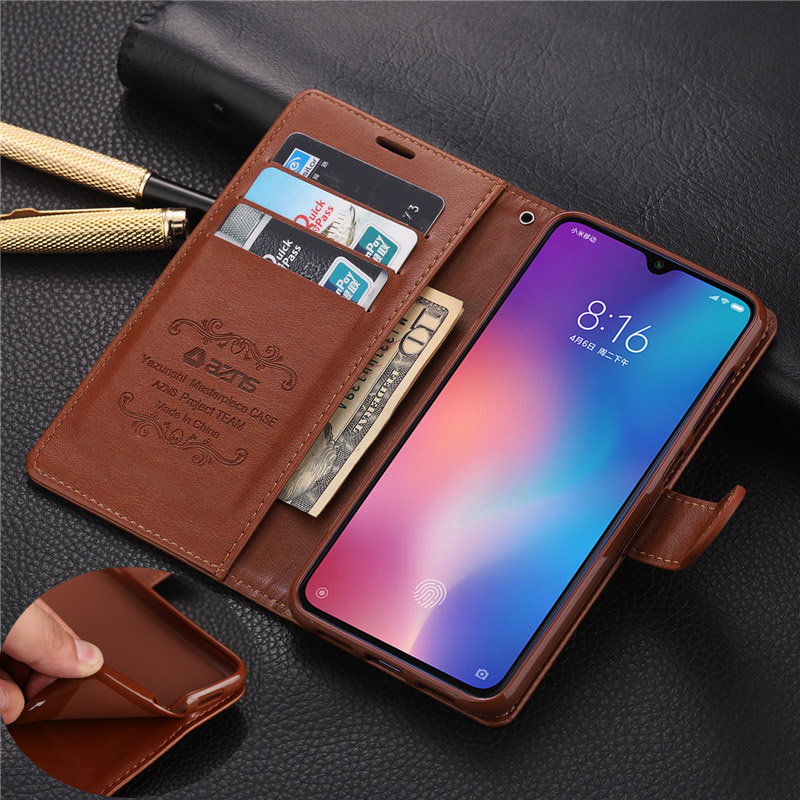 For Xiaomi Mi 9 Mi9 Case Luxury Wallet PU Phone Case For Xiaomi Mi 8 Lite Mi 9 Se 9T Mi CC9 Mi CC9e Cases Book Flip Cover